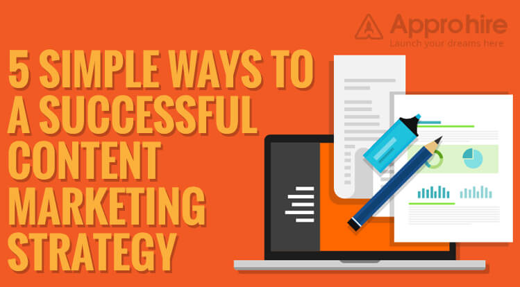 5 Simple Ways to a Successful Content Marketing Strategy