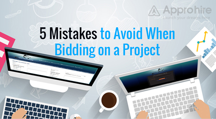5 Mistakes to Avoid When Bidding on a Project