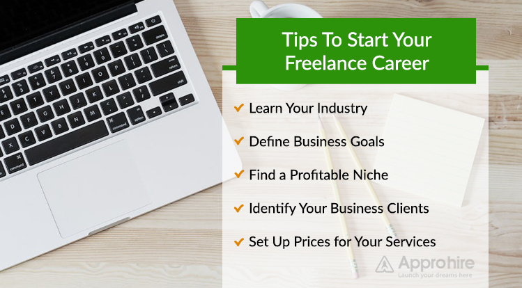 5 Steps to Start Your Own Freelance Career